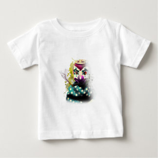 Wellcoda Crazy Evil Clown Toy Horror Face Baby T-Shirt