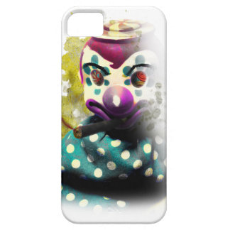 Wellcoda Crazy Evil Clown Toy Horror Face Case For The iPhone 5
