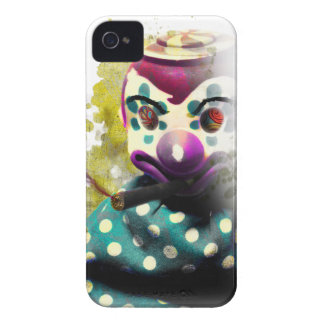 Wellcoda Crazy Evil Clown Toy Horror Face iPhone 4 Covers