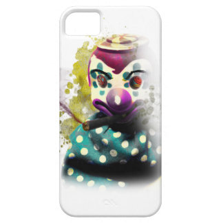 Wellcoda Crazy Evil Clown Toy Horror Face iPhone 5 Covers
