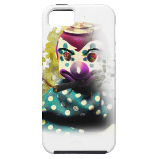 Wellcoda Crazy Evil Clown Toy Horror Face Tough iPhone 5 Case