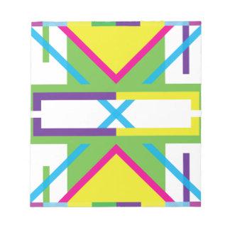 Wellcoda Crazy Fresh Summer USA Rave Beat Notepad
