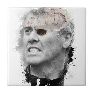 Wellcoda Crazy Skeleton Head Zombie Man Tile