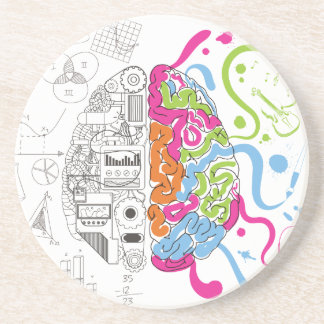 Wellcoda Creative Brain Mind Master Side Coaster