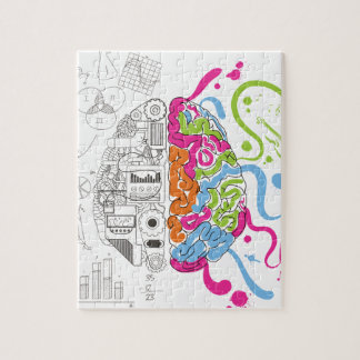 Wellcoda Creative Brain Mind Master Side Jigsaw Puzzle