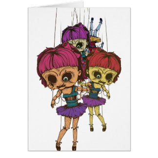 Wellcoda Creepy Freaky Doll Bad Life Toy Card