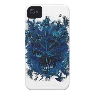 Wellcoda Creepy Horror Skull Scary Mask iPhone 4 Covers