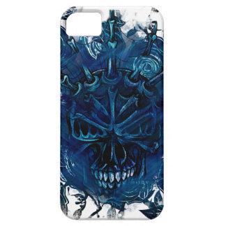 Wellcoda Creepy Horror Skull Scary Mask iPhone 5 Cover