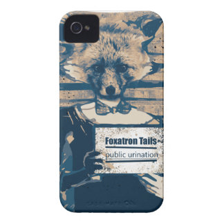 Wellcoda Criminal Fox Crime Offender Foxy Case-Mate iPhone 4 Cases