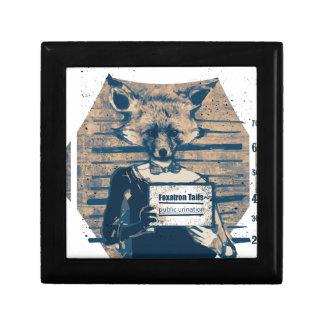Wellcoda Criminal Fox Crime Offender Foxy Gift Box