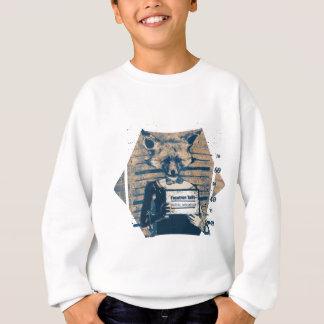 Wellcoda Criminal Fox Crime Offender Foxy Sweatshirt