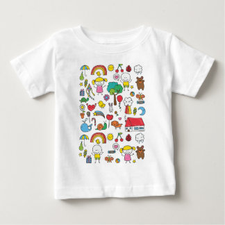 Wellcoda Cute Little Kids Dream Love Life Baby T-Shirt