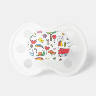 Wellcoda Cute Little Kids Dream Love Life Pacifier