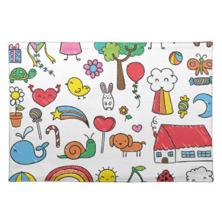 Wellcoda Cute Little Kids Dream Love Life Placemat
