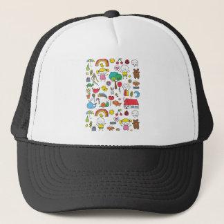 Wellcoda Cute Little Kids Dream Love Life Trucker Hat