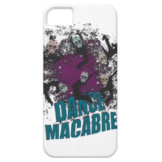 Wellcoda Dance Macabre Skull Happy Crazy Case For The iPhone 5