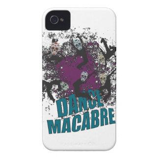 Wellcoda Dance Macabre Skull Happy Crazy iPhone 4 Covers