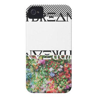 Wellcoda Day Dreamer Contrast Flower Life iPhone 4 Case