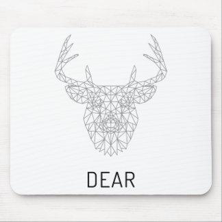 Wellcoda Dear Deer Stag Head Wild Print Mouse Pad