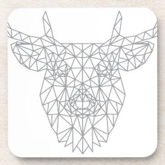 Wellcoda Dear Oh Deer Animal Crazy Stag Coaster