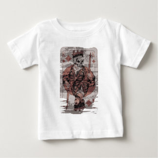 Wellcoda Death King Playing Card Casino Baby T-Shirt