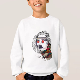Wellcoda Diamond Eye Face Vibe Graphic Sweatshirt