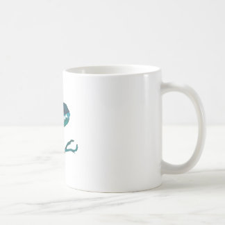 Wellcoda Dinosaur Headphone Music Lover Coffee Mug
