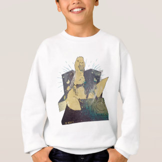 Wellcoda Dj Animal Duck Party Music Funny Sweatshirt