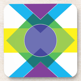 Wellcoda DJ Summer Crazy Vibe Colour Life Beverage Coaster