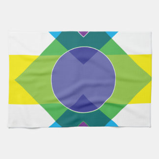 Wellcoda DJ Summer Crazy Vibe Colour Life Kitchen Towel