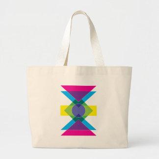 Wellcoda DJ Summer Crazy Vibe Colour Life Large Tote Bag