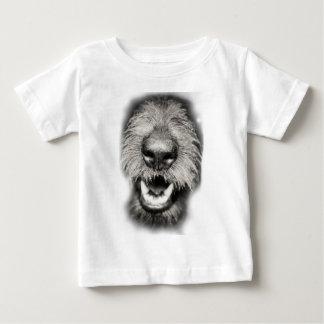 Wellcoda Dog Close Up Face Cool Pet Comic Baby T-Shirt