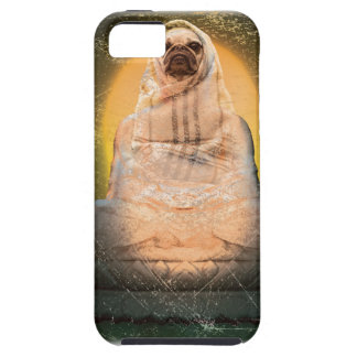 Wellcoda Dog Pug Buddha God Cute Puppy iPhone 5 Case