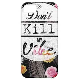 Wellcoda Don't Kill My Vibe Summer Fun iPhone 5 Covers