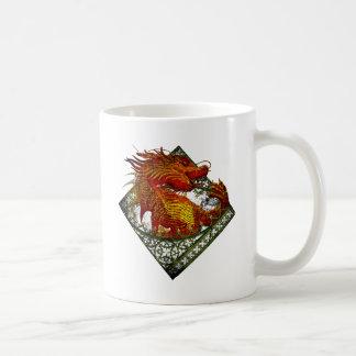 Wellcoda Dragon Fantasy Beast Oriental Coffee Mug