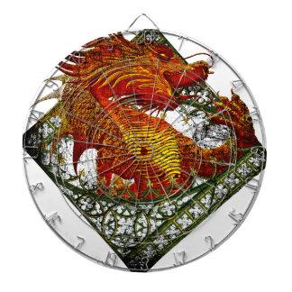 Wellcoda Dragon Fantasy Beast Oriental Dartboard