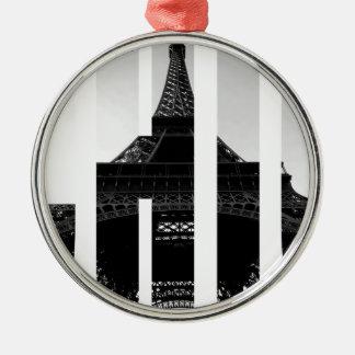 Wellcoda Eiffel Tower Chic Swag Paris Love Christmas Ornament