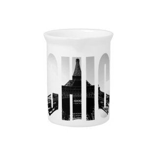 Wellcoda Eiffel Tower Chic Swag Paris Love Drink Pitcher