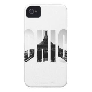Wellcoda Eiffel Tower Chic Swag Paris Love iPhone 4 Case