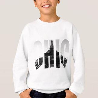 Wellcoda Eiffel Tower Chic Swag Paris Love Sweatshirt