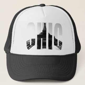 Wellcoda Eiffel Tower Chic Swag Paris Love Trucker Hat