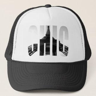 Wellcoda Eiffel Tower Chic Swag Paris Love Trucker Hat