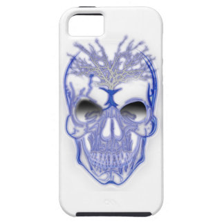 Wellcoda Electric Skull Shock Face Bolt Case For The iPhone 5