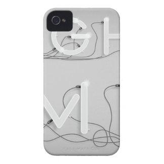 Wellcoda Enlighten Me Bulbs Swag Hipster iPhone 4 Case-Mate Case