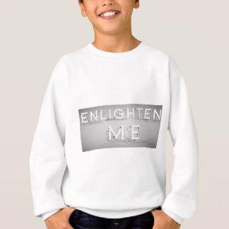 Wellcoda Enlighten Me Bulbs Swag Hipster Sweatshirt