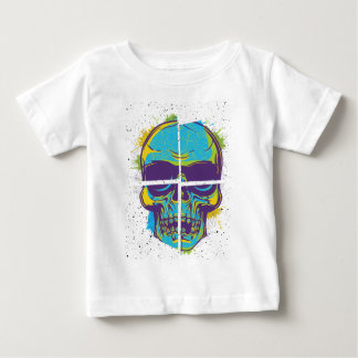 Wellcoda Epic Party DJ Skull Dead Summer Baby T-Shirt