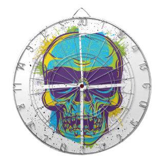 Wellcoda Epic Party DJ Skull Dead Summer Dartboard