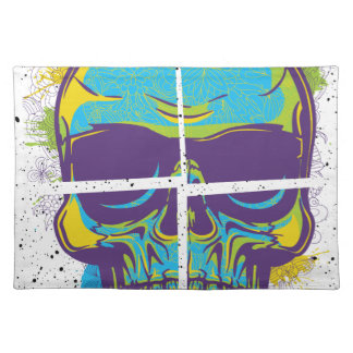 Wellcoda Epic Party DJ Skull Dead Summer Place Mats