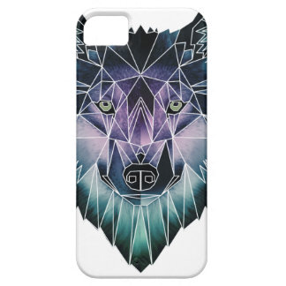 Wellcoda Epic Summer Wolf Face Nature Fun iPhone 5 Cover