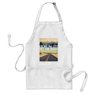 Wellcoda Escape City Hit Road Car Trip Standard Apron